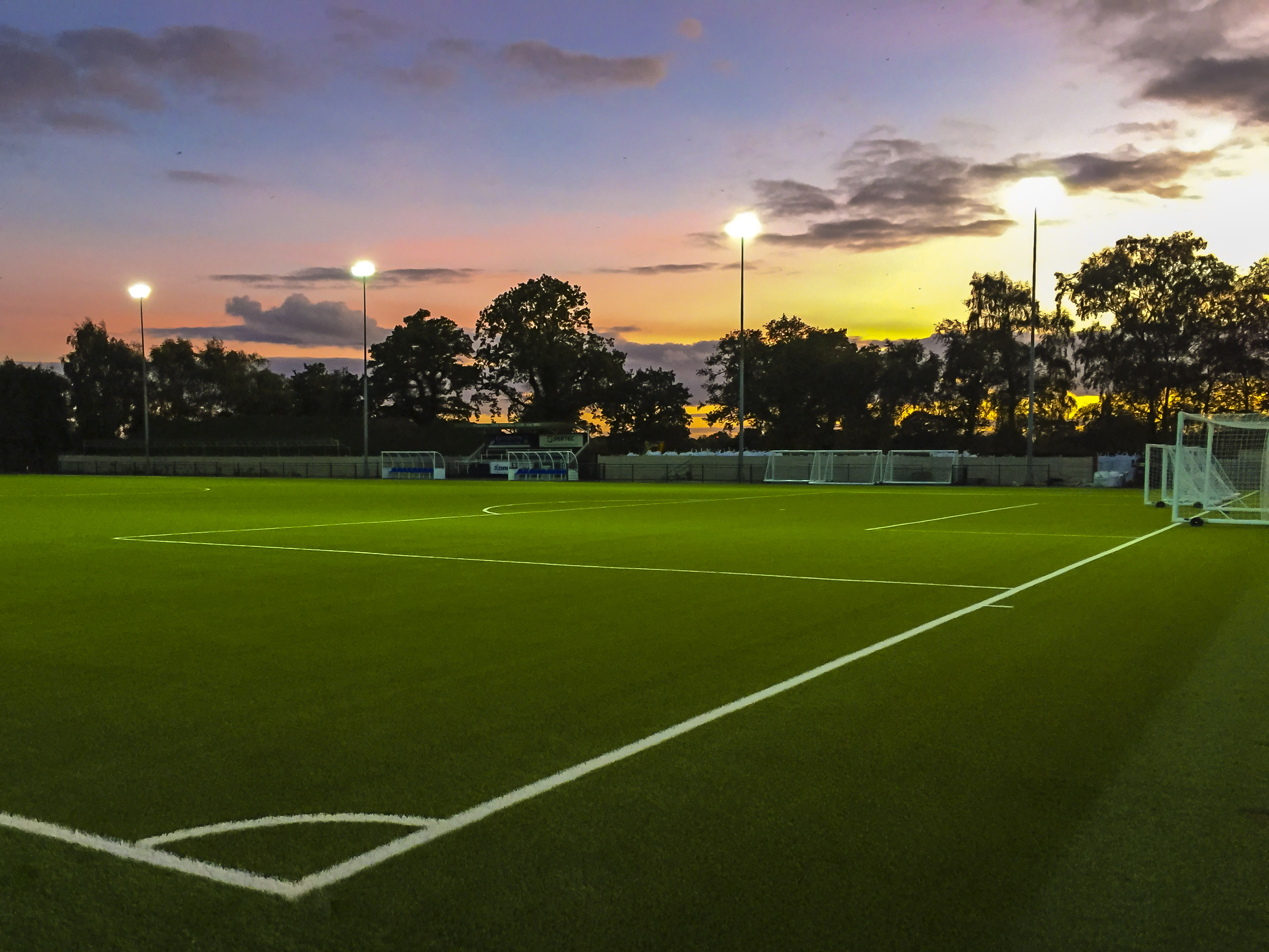 Book Our Floodlit All Weather 3G Pitch